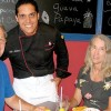 With wine and sangria, Nina's  Restaurant serves authentic Cuban food