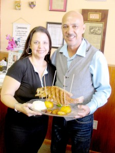For 11 years, Vicky Iglesias and Carlos Ramirez have served the best of the Colombian food.