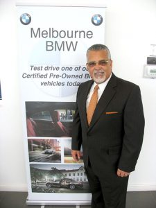 Héctor Rosario has worked for BMW for more than nine years.